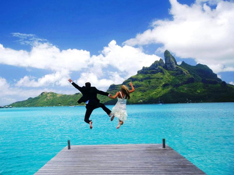 Γαμήλιο ταξίδι στην Γαλλική Πολυνησία